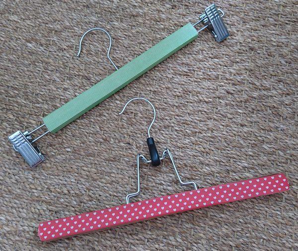 DIY masking tape cintres