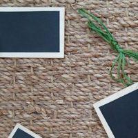 DIY : étiquettes pour les plantes en bois