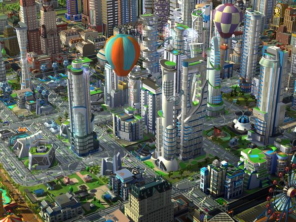 Mise à jour SimCity BuildIt villes du futur 1