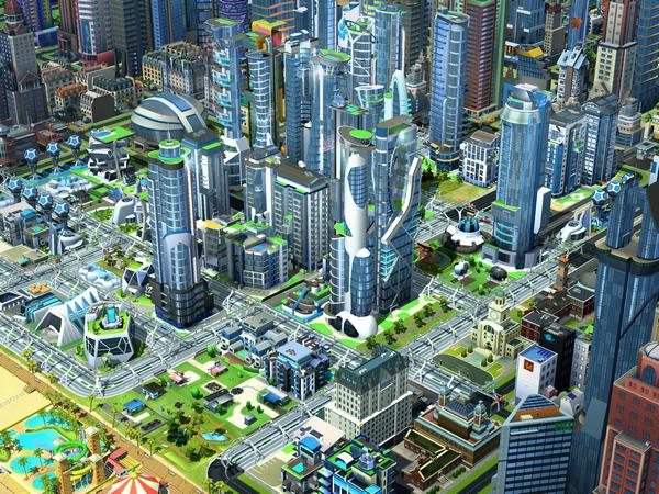 Mise à jour SimCity BuildIt villes du futur 2
