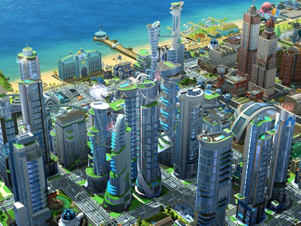 Mise à jour SimCity BuildIt villes du futur