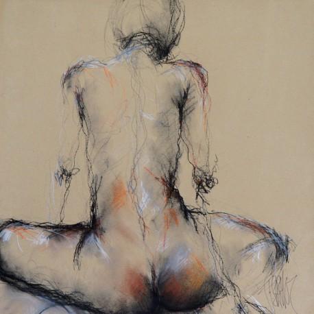 oeuvre-d-art-contemporain-francois-sahuc-valerie-de-dos
