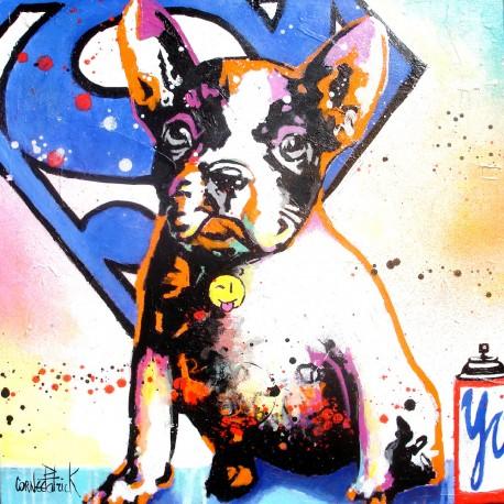 oeuvre-d-art-contemporain-patrick-cornee-superdog-iv