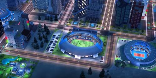 SimsCity BuildIt maj été sportif