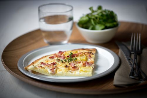 Pizza lardon emmental