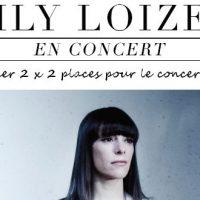 Jeu-concours : gagnez vos places pour le concert d'Emily Loizeau !