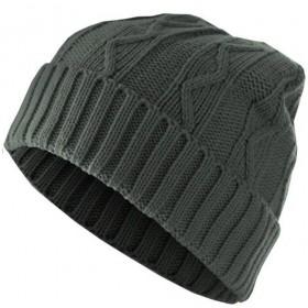 bonnet-chaud-homme-cable-gris-masterdis-1