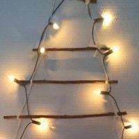 DIY : fabriquer un sapin de Noël avec des branches