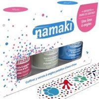 On a testé : le coffret de 3 vernis à ongles à base d'eau Namaki