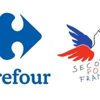 Collecte de fournitures scolaires Carrefour x Secours Populaire