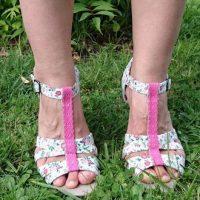 DIY : des sandales fleuries