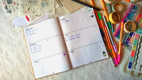 10 conseils et id es pour cr er son bullet journal so what. Black Bedroom Furniture Sets. Home Design Ideas