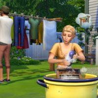 Les Sims™ 4 Jour de lessive sort aujourd'hui