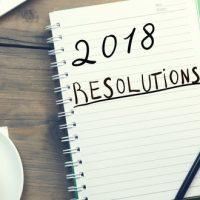 Mes non résolutions 2018