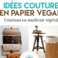 Idées couture en papier vegan – Karin Roser