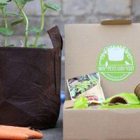 On a testé: les box de jardinage urbain Mon Petit Coin Vert