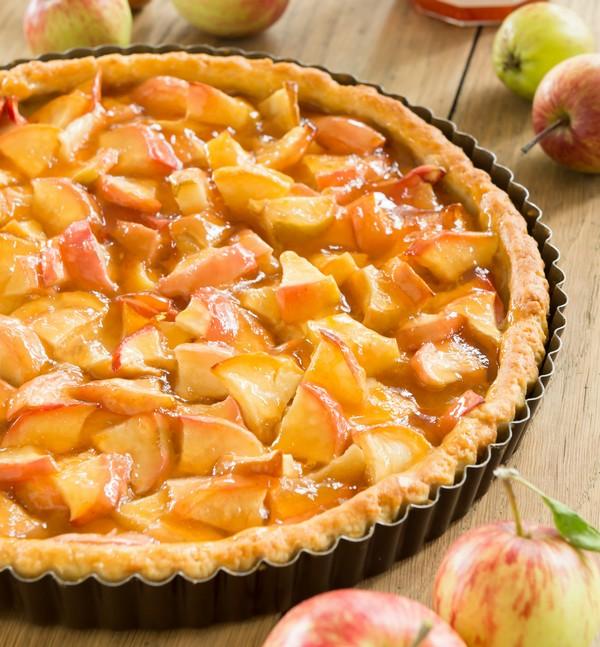Recette tarte aux pommes facile diy la plus belle tarte aux pommes du soleil le meilleur du diy - Tarte soleil aux pommes ...