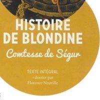 Histoire de Blondine – Comtesse de Ségur