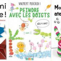 9 livres de loisirs créatifs pour les enfants