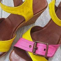 DIY: relooker des sandales compensées en cuir