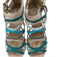 DIY: relooker des sandales à brides en cuir
