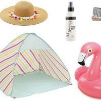 Accessoires indispensables pour la plage