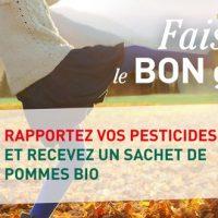 6 tonnes de pesticides récoltées par botanic cet automne