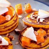Pancakes à la courge butturnut et au Charolais