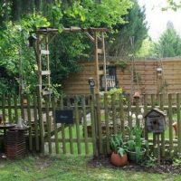 Un poulailler dans le jardin