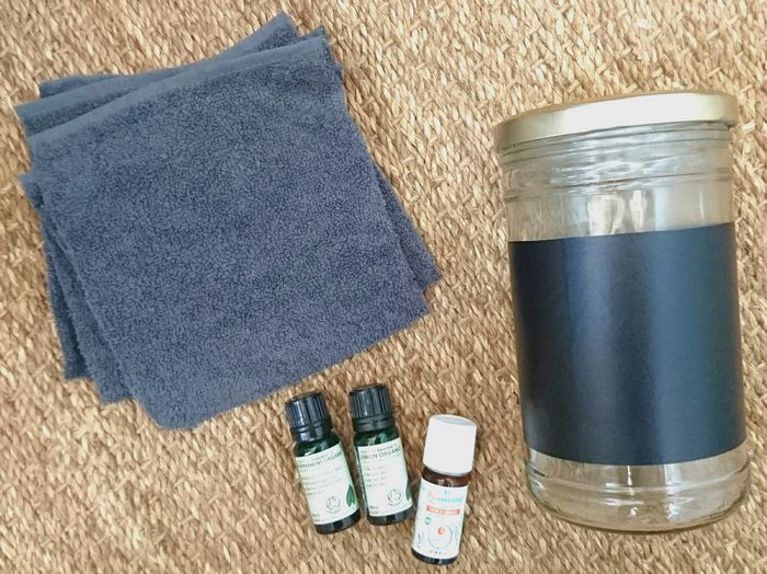 diy zero dechet lingettes nettoyantes lavables huiles essentielles