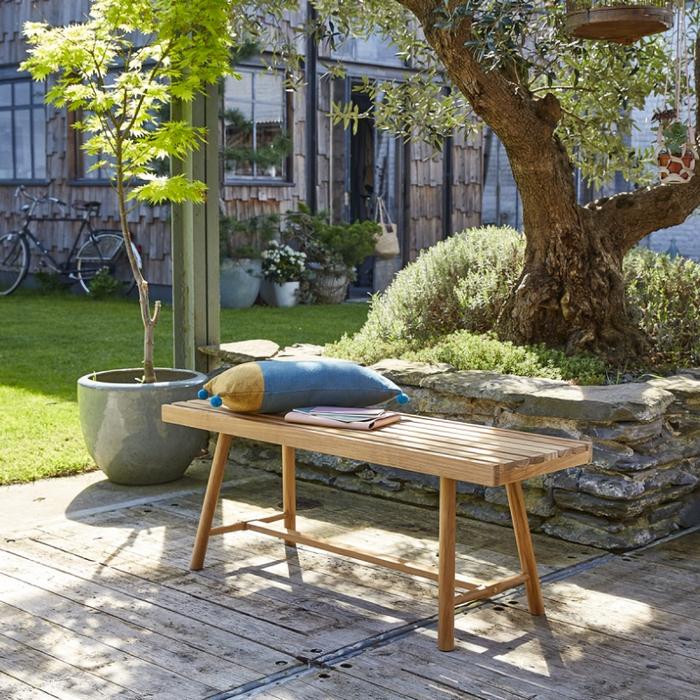 banc de jardin en teck bois dessus bois dessous