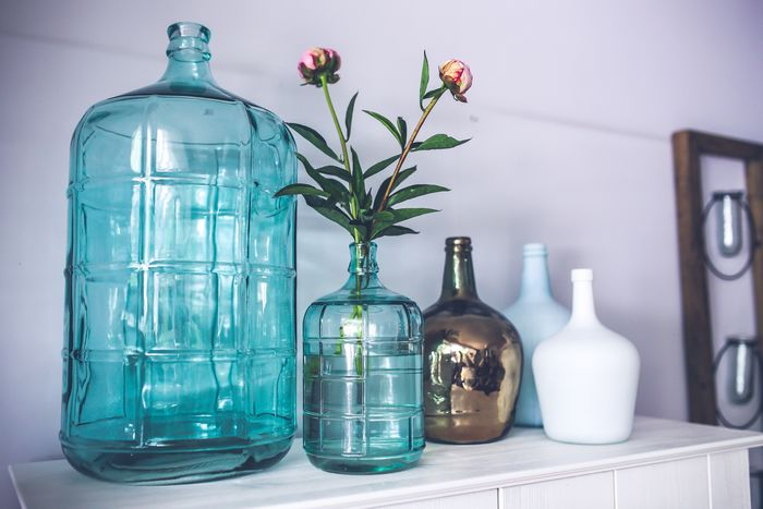 collection vases bouteilles