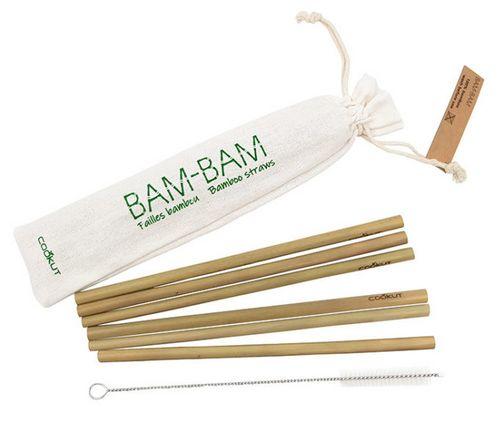 pailles en bambou