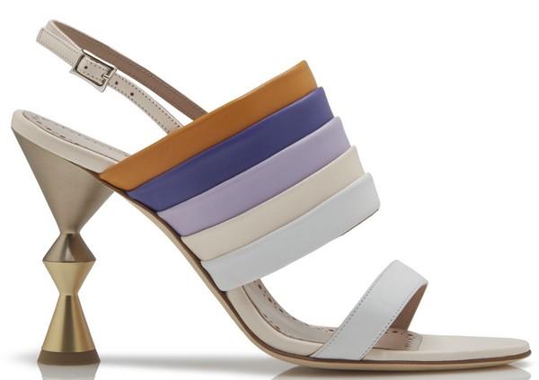 sandales colorblock manolo blahnik