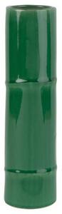 vase bambou céramique vert