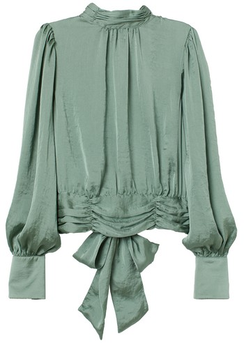 blouse satin h&m