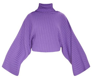 pull manches xxl violet