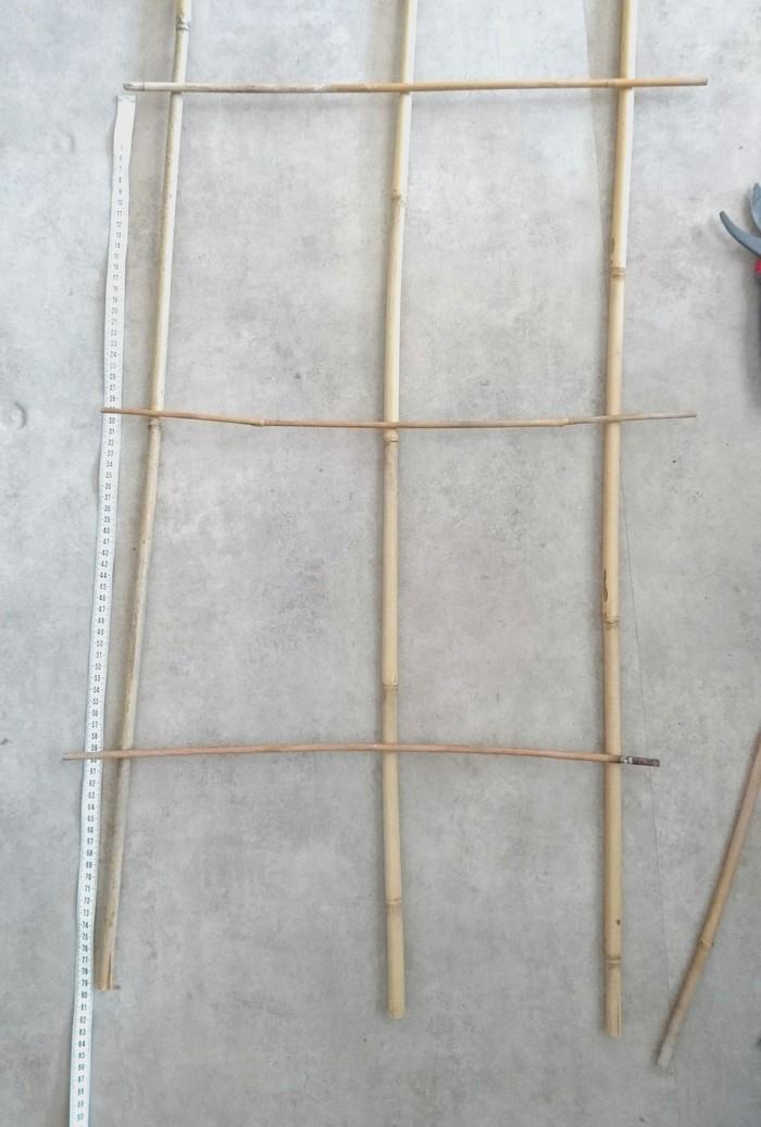 DIY créer un treillage pour plantes grimpantes