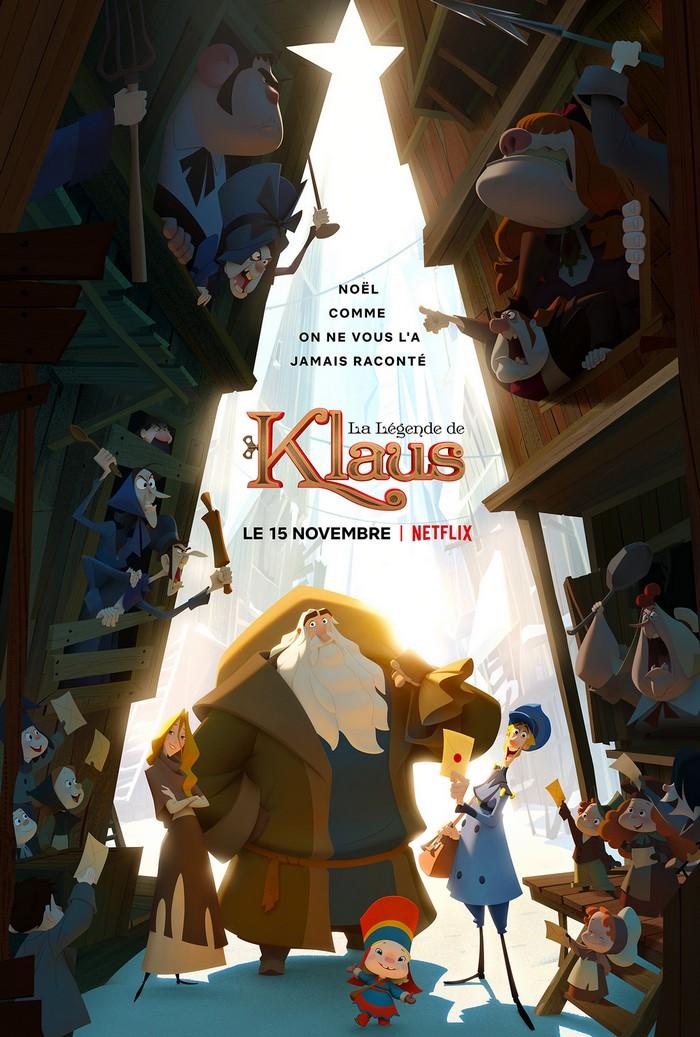La légende de Klaus Netflix