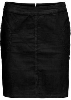 jupe courte velours côtelé noire bon prix