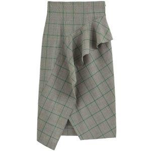 jupe taille haute portefeuille la redoute