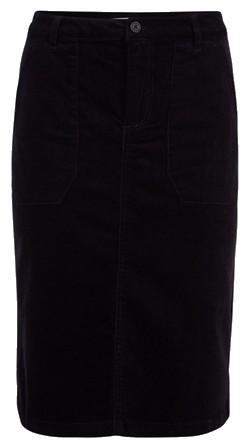 jupe velours midi noire galeries lafayette