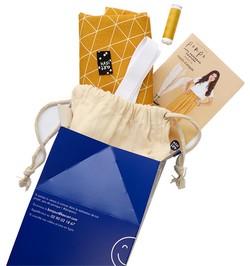 kit jupe paperbag couture dakota kesi art