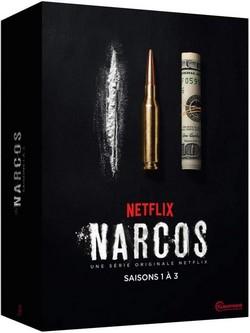 narcos dvd saisons 1 a 3
