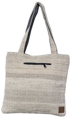 tote bag chanvre himalayan made beige