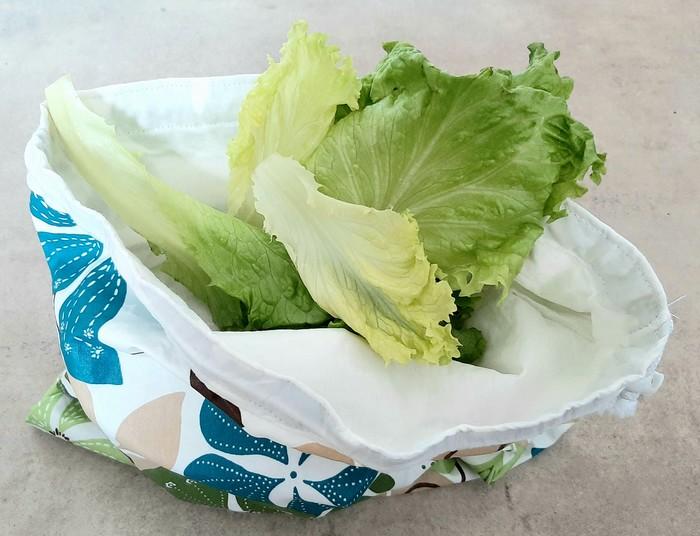 DIY sac a salade