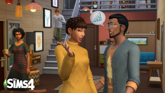kit d'objets Les Sims 4 Mini-maisons