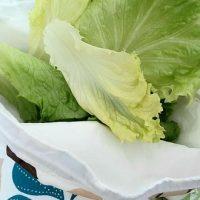 DIY sac à salade et crudités