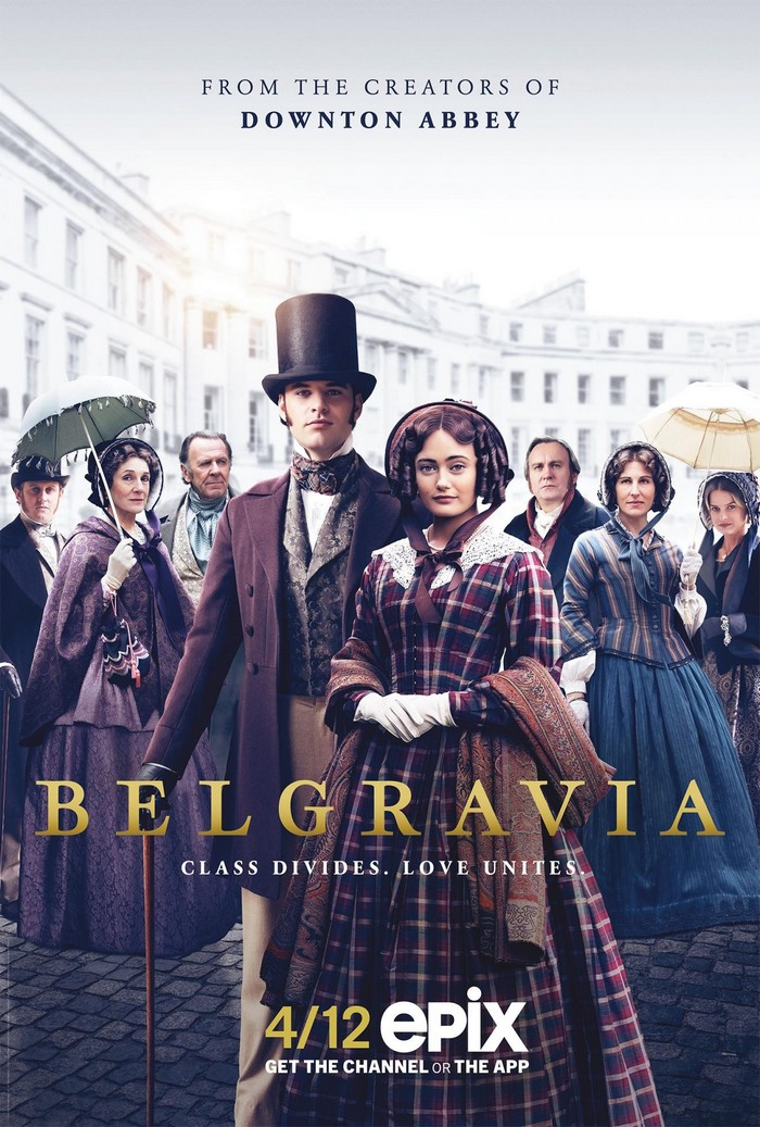Un trailer pour la série Belgravia de Julian Fellowes