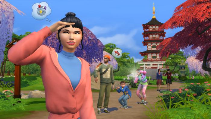 Les Sims 4 Escapade enneigée